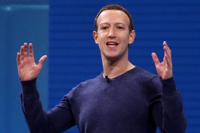 Giám đốc điều hành Facebook Mark Zuckerberg