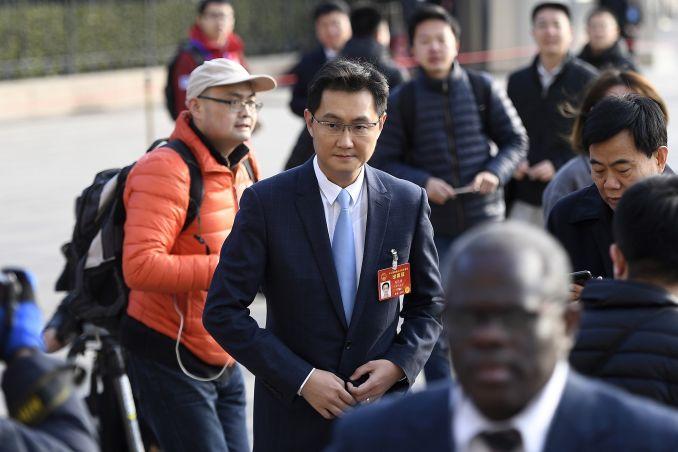 Ma 'Pony' Huateng, CEO của Tencent