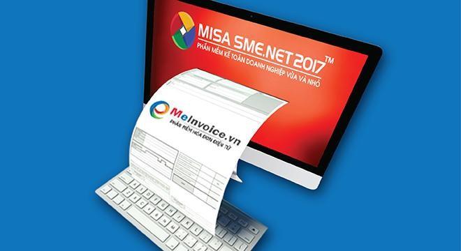 Phần mềm hóa đơn điện tử meInovice do Công ty Cổ phần Misa cung cấp.
