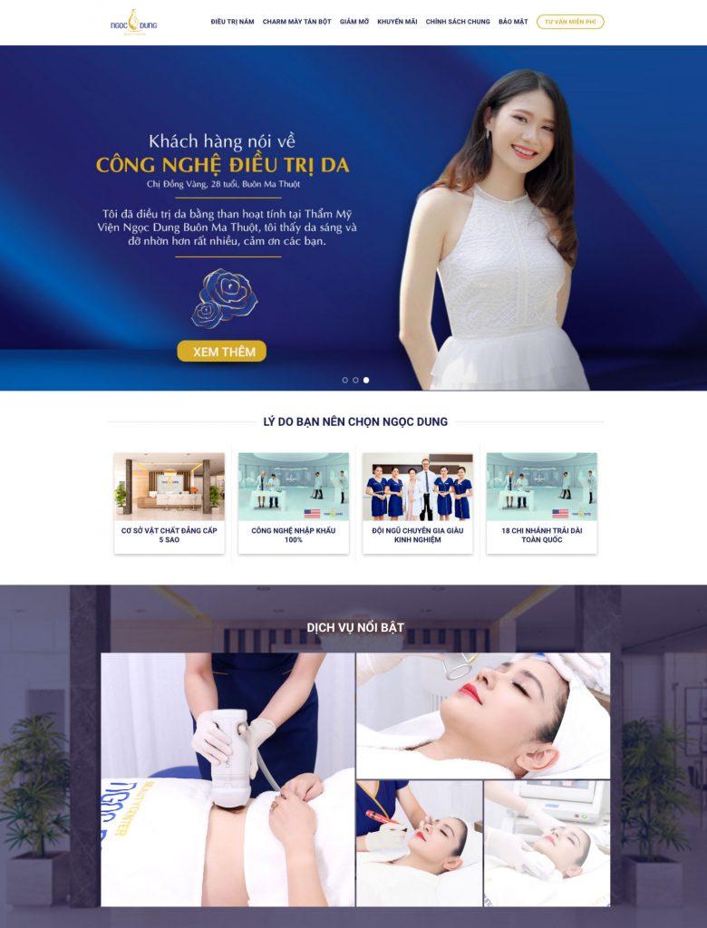 Website - Công cụ Marketing số 1 của Spa