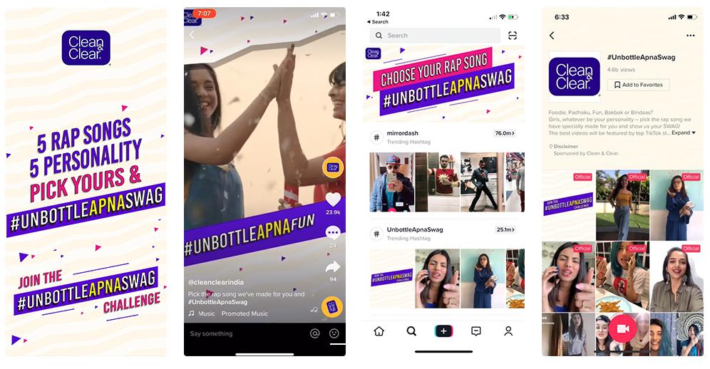 Quảng cáo TikTok: Hashtag Challenge