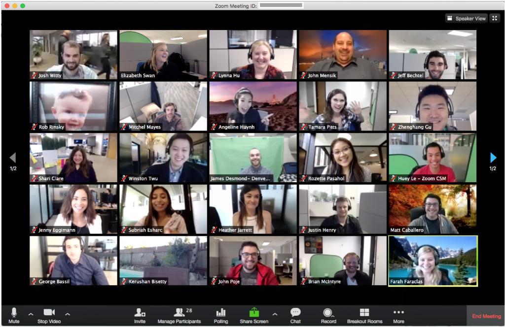 Tính năng nổi bật của Zoom Meetings