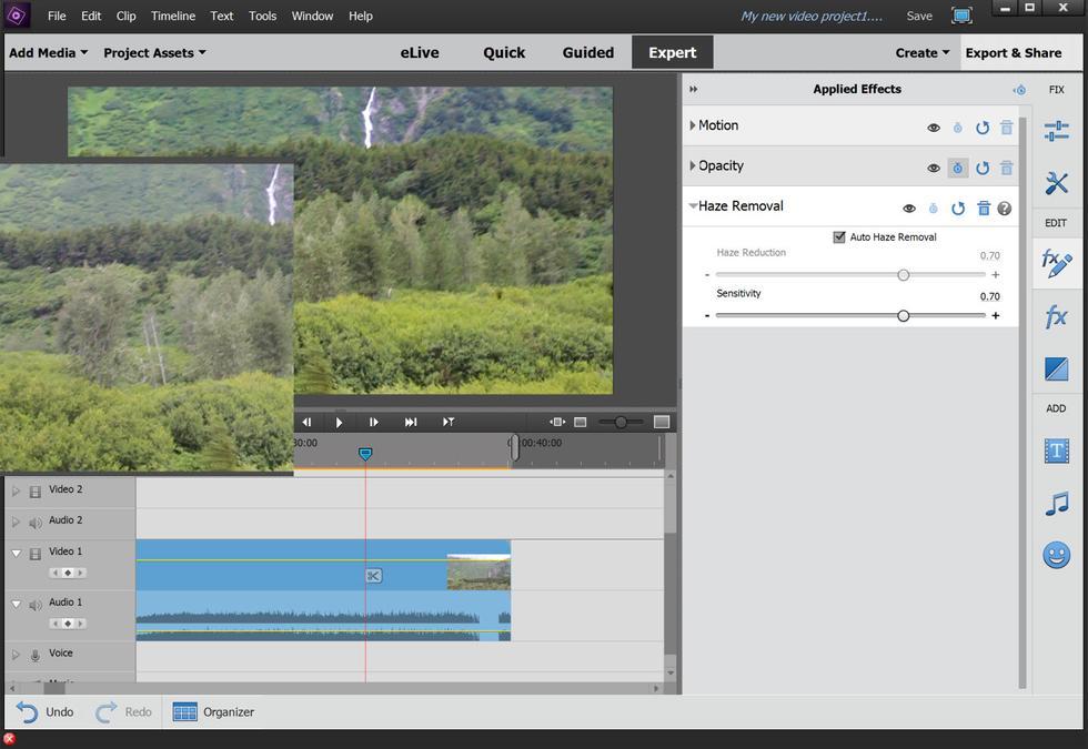 Phần mềm chỉnh sửa video Premiere Elements 15