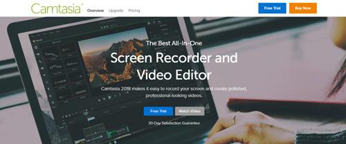 Phần mềm chỉnh sửa video camtasia