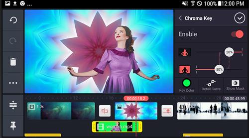 Chỉnh sửa cắt ghép video trên điện thoại KineMaster