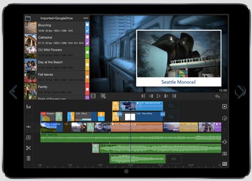 Chỉnh sửa cắt ghép video trên điện thoại LumaFision