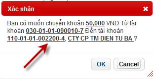 Hướng dẫn sử dụng Internet Banking của ngân hàng Maritime Bank