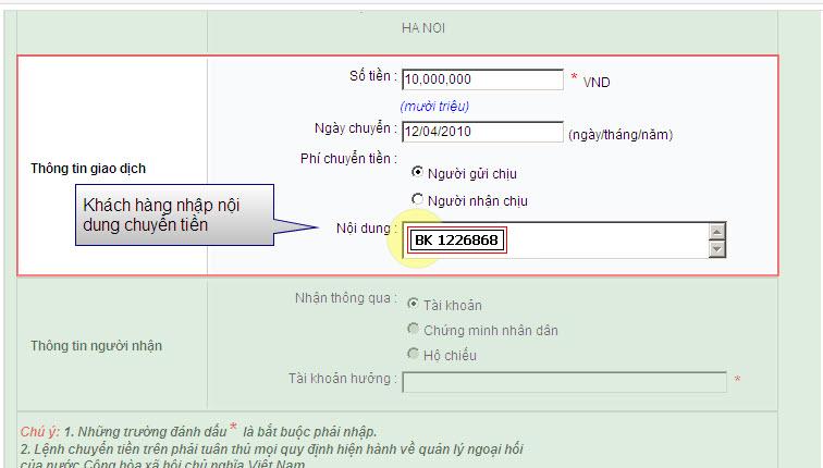 Hướng dẫn sử dụng internet banking của ngân hàng Dầu Khí