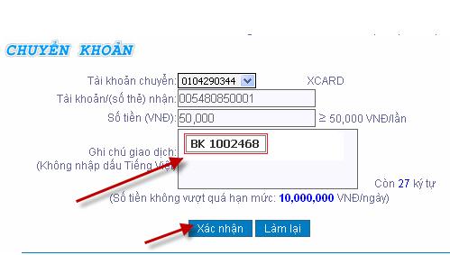 Hướng dẫn sử dụng Internet Banking của ngân hàng Đông Á