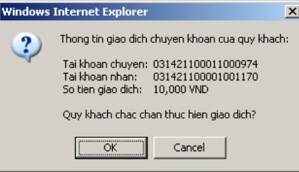 Hướng dẫn sử dụng Internet Banking của ngân hàng Sài Gòn-Hà Nội