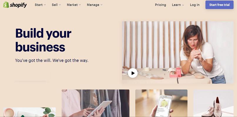 Shopify thiết kế website bán hàng chuẩn SEO