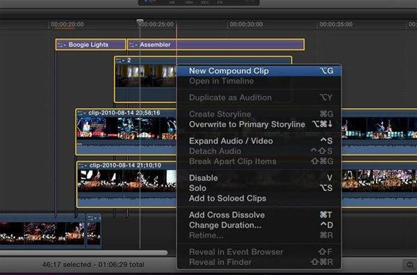 Phần mềm chỉnh sửa video Final Cut Pro X 10.0.3