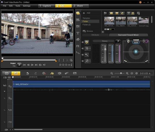 Phần mềm chỉnh sửa video Corel VideoStudio Pro X6