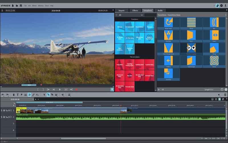 Phần mềm chỉnh sửa video Magix Movie Edit Pro