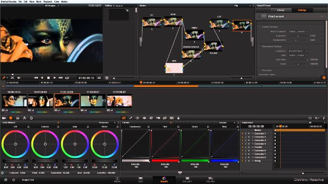 Phần mềm chỉnh sửa video DaVinci Resolve