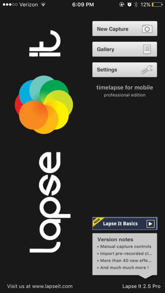 Phần mềm chỉnh sửa video LapseIt
