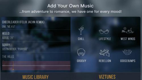 Phần mềm chỉnh sửa video Vizmato