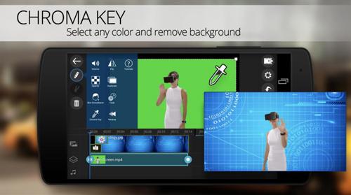 Phần mềm cắt chỉnh sửa video PowerDirector Video App