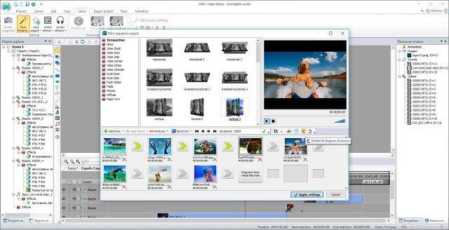 Phần mềm chỉnh sửa video VSDC Free Video Editor