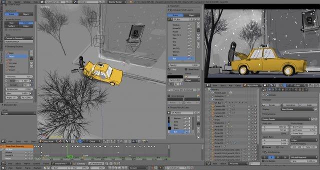 Blender là phầm mềm chỉnh sửa video 3D