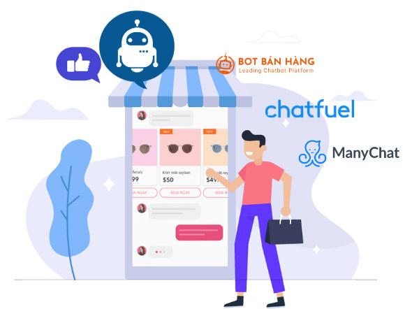 selling page dễ dàng tích hợp nền tảng chatbot