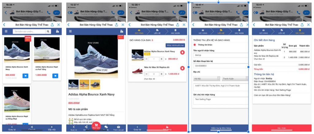 Mô hình triển khai Selling Page tích hợp đa kênh