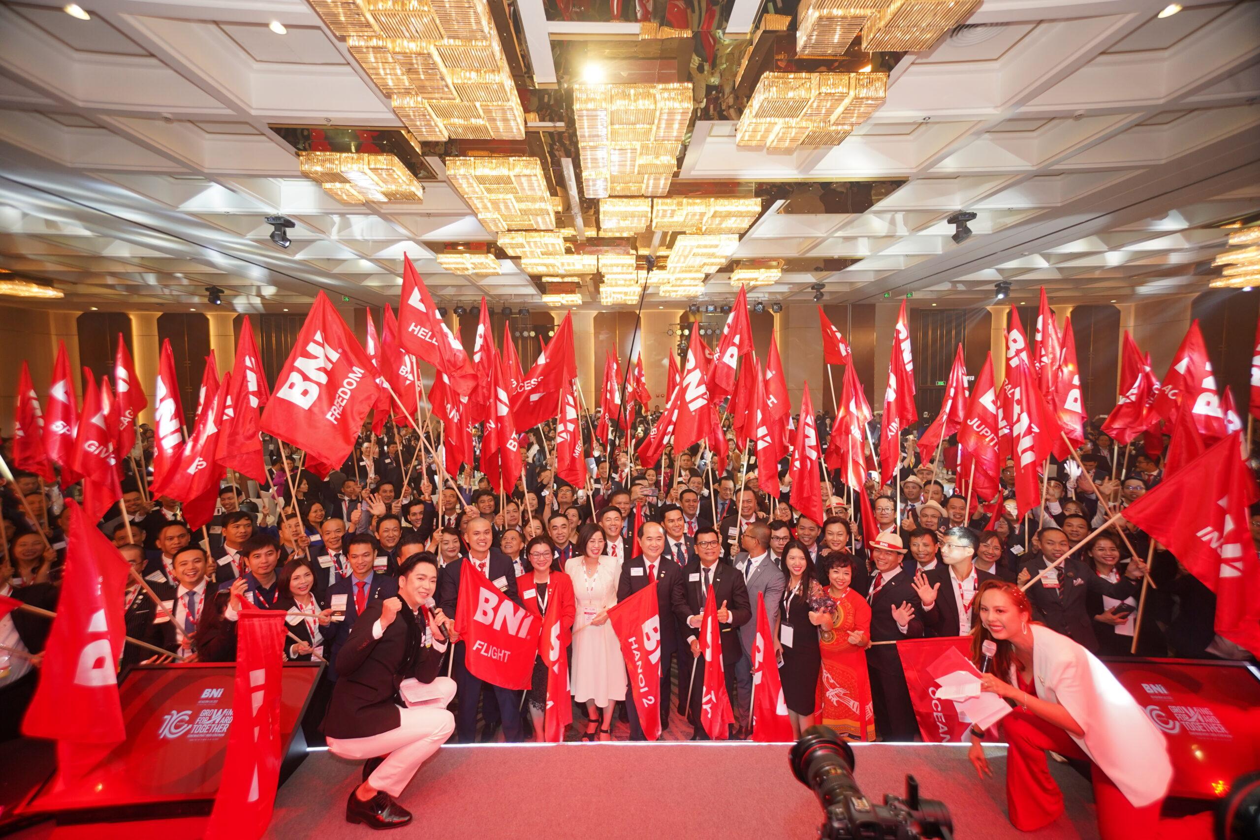 Gần 5,000 thành viên BNI tham gia sự kiện Hội ngộ Đỉnh cao 2020, diễn ra trong hai ngày 9-10/10/2020 tại Vinpearl Luxury, Landmark 81, Tp.HCM.