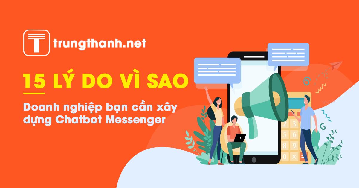 Tại sao cần chatbot cho doanh nghiệp