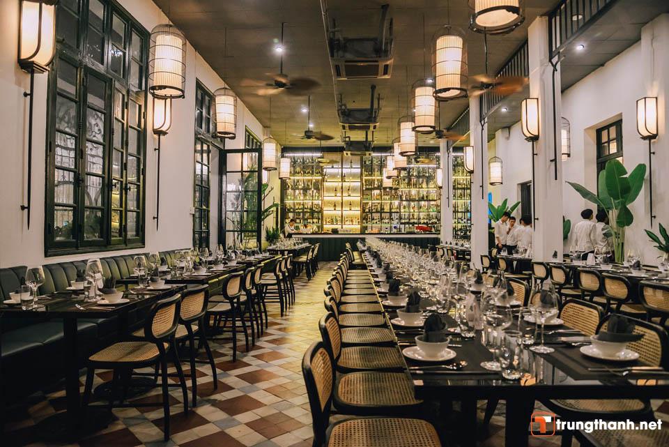 Mô hình kinh doanh nhà hàng với phong cách nước ngoài
