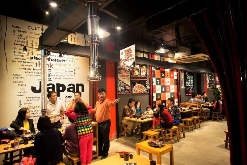 Mô hình kinh doanh quán ăn, nhà hàng nướng, lẩu nướng tại bàn.